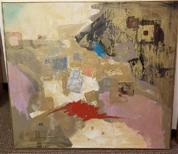Fritz Stinebaugh 2004 Mixed Media Abstract Acrylic