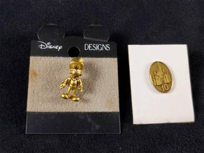 Two Disney Cast Exclusive Award 10 Year Pins D