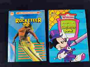 Disney Mickey Mouse Rocketeer Coloring Books