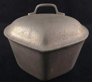 Vintage Silver Seal Aluminum Dutch Oven Pot C