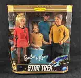 Star Trek 30th Anniversary Barbie and Ken Dolls