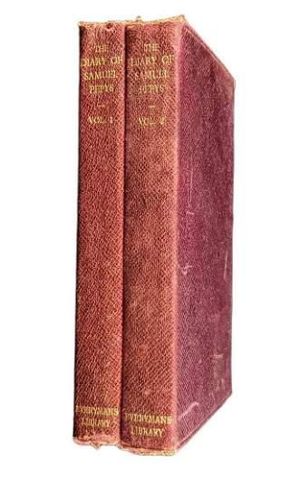 Vintage The Diary Of Samuel Pepys Volume 1 & 2