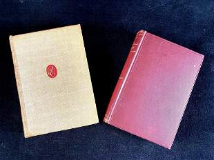 Set of (2) Books Non-Fiction and Poetry