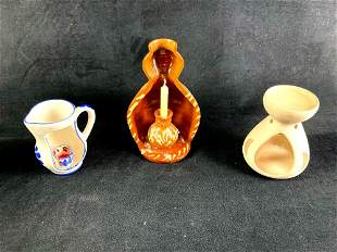 Set of (3) Candle Holders