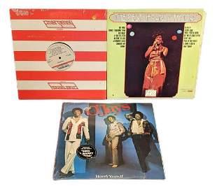 Vinyl LP Records Carla Thomas The O'Jays