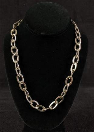 Silver- Tone Ralph Lauren Necklace Unique