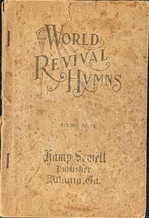 Vintage World Revival Hymns Songbook Paperback