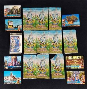 Disney Trading Cards 10 Unopened Packs Plus More