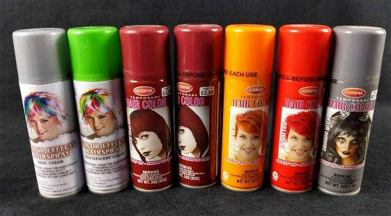 7 Goodmark Seasonal Visions Hairspray Temp Color C
