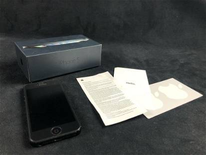 iPhone 5 Black 32B 2012
