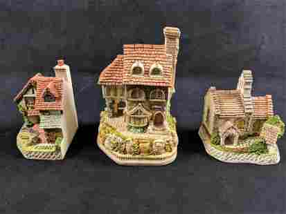 David Winter Cottages Group Of Three