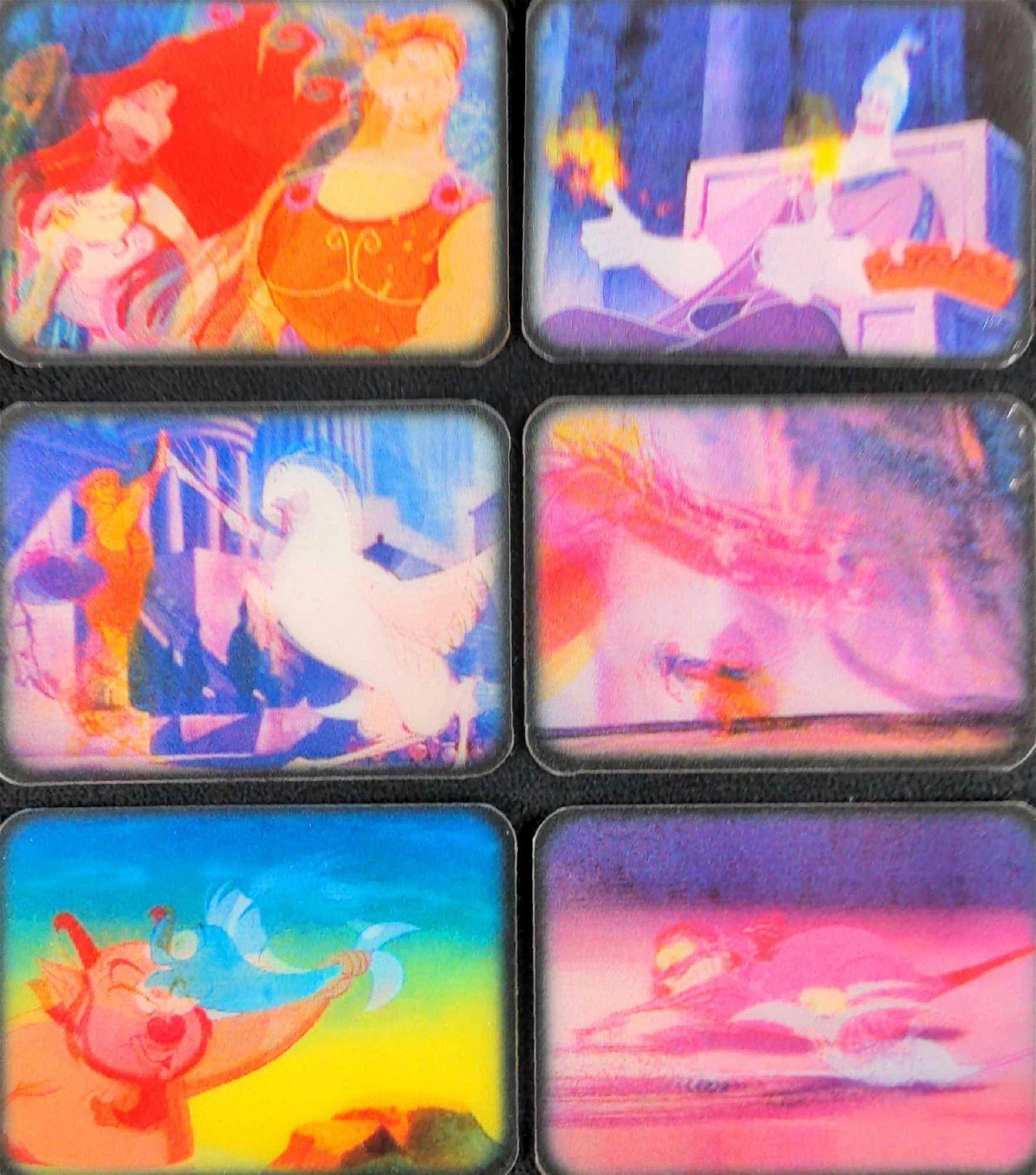 Disneys Hercules Set Of Six Mega Motion Cards