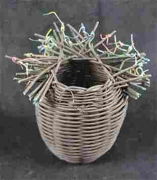 Handmade Art Basket