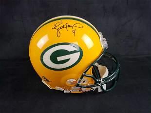 Brett Favre Green Bay Packers Signed Helmet