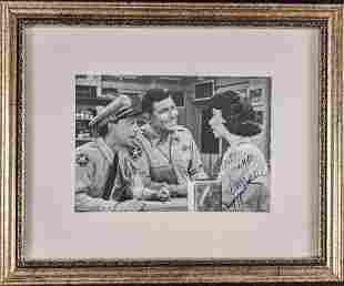Autographed Elinor Donahue Andy Griffith Publicity