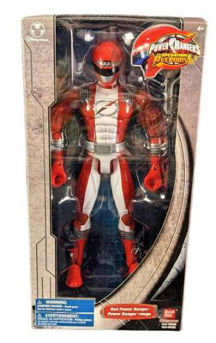Disney Store Exclusive 11 Inch Red Power Ranger With