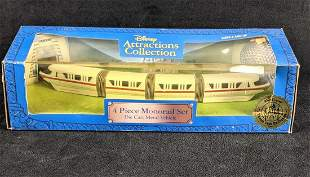 Disney Monorail Set Attractions Collection Toy Set