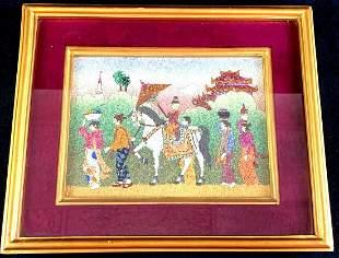 Jade and Gems Artwork from Myanmar
