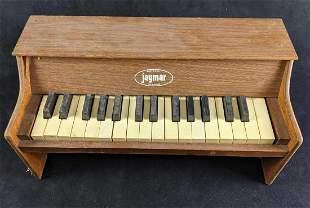 Vintage Jaymar Wooden Piano Table Top Mini Piano