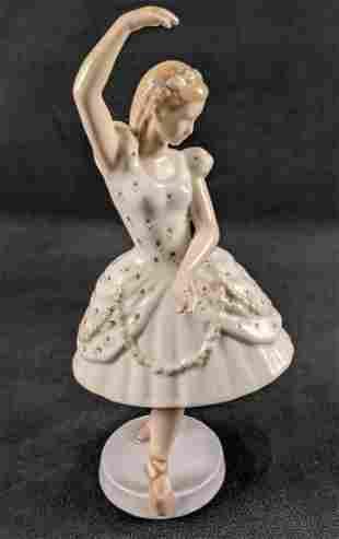 Bing Grondahl Porcelain Figurine Ballerina Dancer