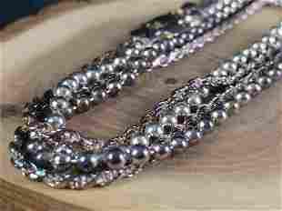 Vintage Sterling Silver Necklace's