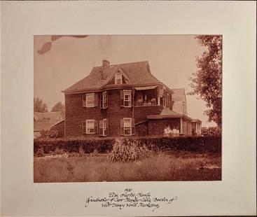 Walt Disney Cast Member Ancestor House Photo