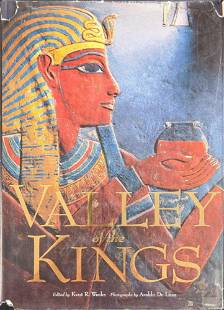 Valley Of The Kings Hardcover Book By Kent Weeks