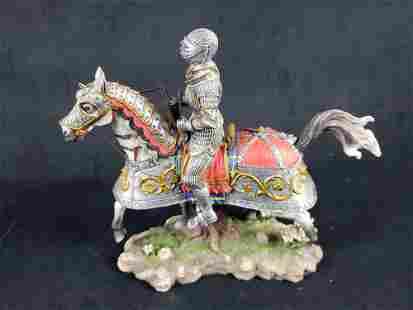Leopold Duke of Austria Ceramic Figurine