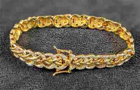 Gold Plated Arrow Bracelet