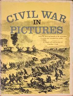 Civil War In Pictures Hardcover By Fletcher Pratt