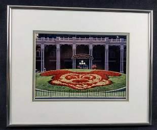 Vintage Mickey Mouse Tokyo Disneyland Framed Photo