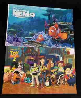 Disney Cast Paper Magazines Buscando A Nemo and Toy