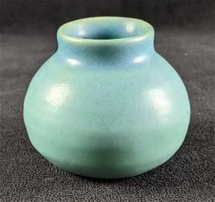 Small Ceramic Vase Van Briggle American Pottery