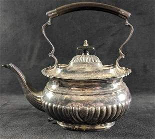 Vintage English Sheffield Silver-Plated Teapot