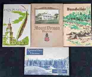 Vintage Historical National Land Mark Booklets