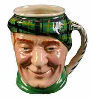 English Sandland Character Toby Mug Scottish Man