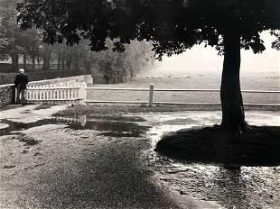 Vintage Signed Jon farmer 1977 Nature scene 8x12 Black