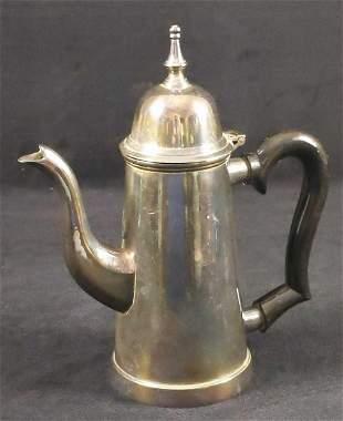 Electro Plated Nickel Silver Teapot William Adams