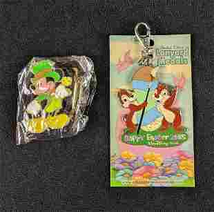Walt Disney Lanyard Holiday Metals