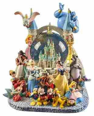 Large Disney Snow Globe - Music Box Wishes
