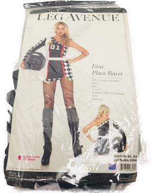 Halloween Costume, First Place Racer from Leg Avenue,
