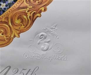 Disney Worlds 25th Anniversary Poster