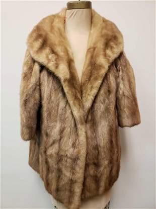 Daytons Pastel Mink Fur Coat