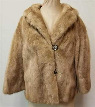 Labich Brothers Furriers Chicago Tawny Mink Fur Coat