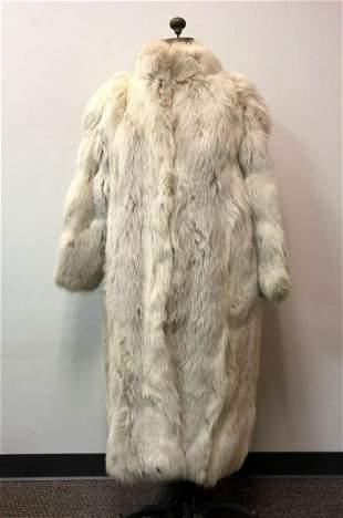Fur Coat Oxidized Fox Full Length