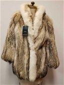 Modern Coyote Fur Coat