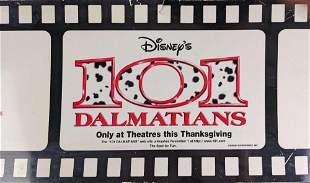 Disney 101 Dalmatians Movie Plastic Bus Banner