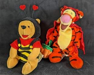 Disney Bean Bag Dolls Bee Winnie The Pooh Halloween