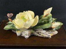 Very Rare S N Magnolia Grandiflora Boehm Porcelain