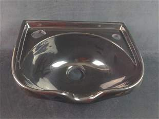 Marble Products 200 Wide Shampoo Bowl With Faucet Set